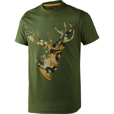 T-shirt Camo Stag