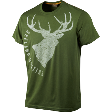 T-shirt Fading Stag